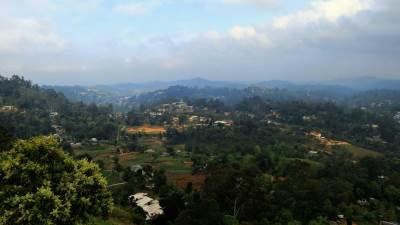 view towards bandarawela central college