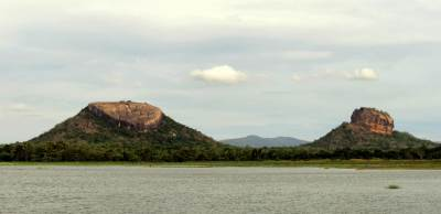view from Pahala thilkote lake while returning back