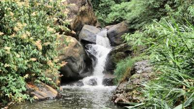 Lower Bomburu cascades