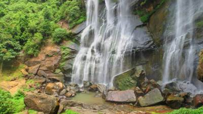 Base of the water fall