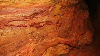 Sometimes roots of trees can be seen in the cave wall. It mean it is not that much underground
