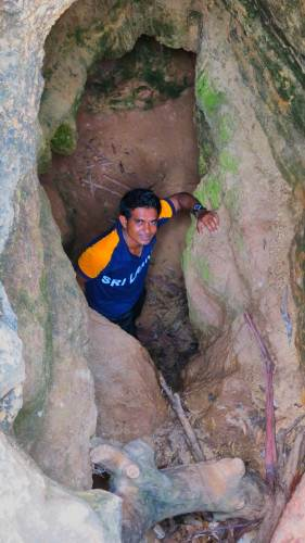 I am at cave entrance