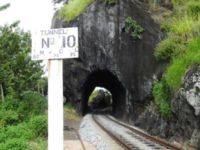 Yeah, the tunnel 10, also called Bangali Tunnel