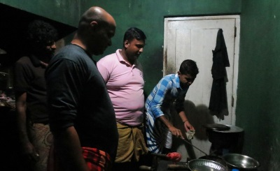 Though Thilakasiri was the main cook we had our own cooks
