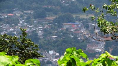 Crowded Matale town