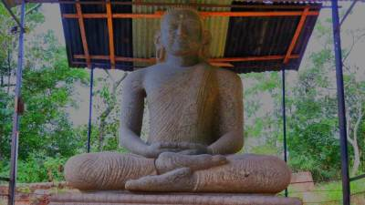 Godamunne Samadhi Buddha Statue. Belongs to Kandyan era.