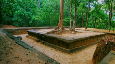 Seetha Kotuwa Archeology site: It has foundation of two buildings and outer wall