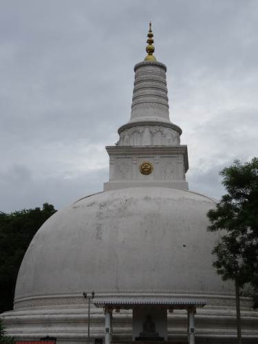 One of the beautiful Stupa's I've seen
