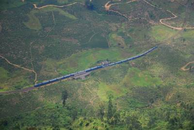 The longest Train in Sri Lanka
