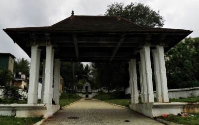 entrance of badulla kataragama devalaya