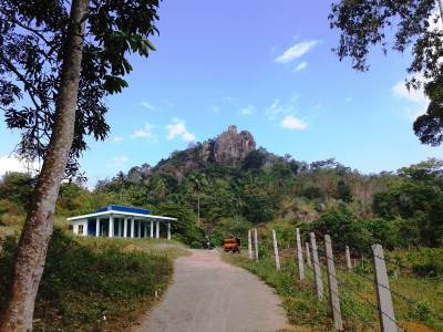 Starting point. Uthuwankanda Rock !