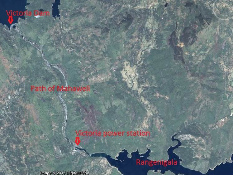 Satellite picture of the missing river part