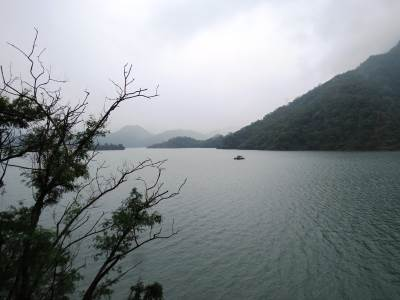 Randenigala reservoir with full capacity