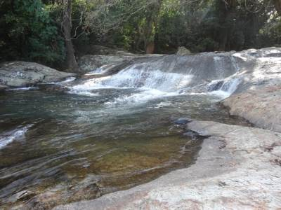 First Section of Sooriya Arana falls