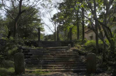 The gate house to the ancient route to Anuradhapura…
