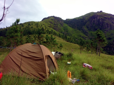 Tent and the range