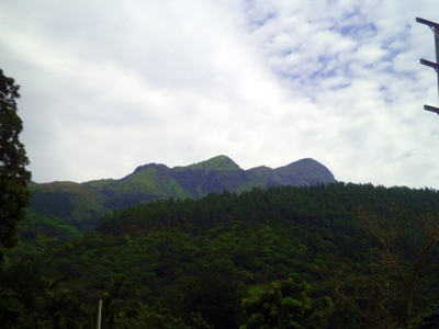 Adarakanda Range as seen on main road 3
