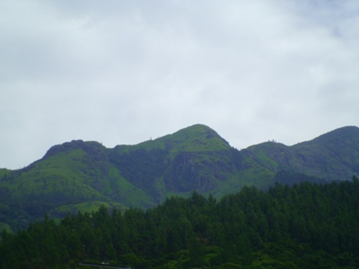 Adarakanda Range as seen on main road 4