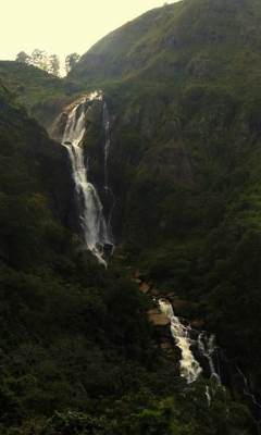 2nd highest kurudu oya falls