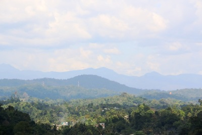 Might be peaks of Matale Hills
