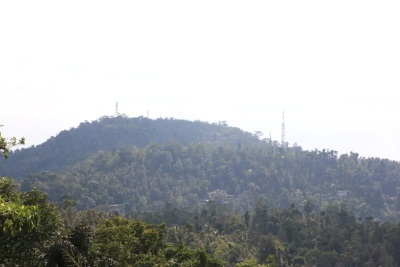 Balumgala-another view point of Kadugannawa. It provides the view towards Mawanella and Kegalle