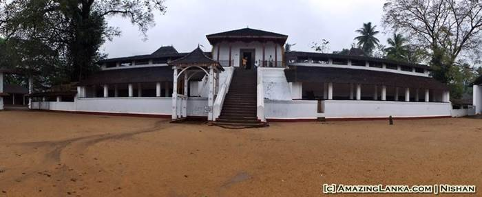 A panoramic view of the Ratnapura Fort