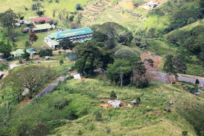Zoomed view of Beragala tea factory