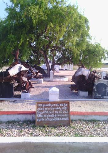 Gen. Kobbekaduwa Memorial at Arali Point