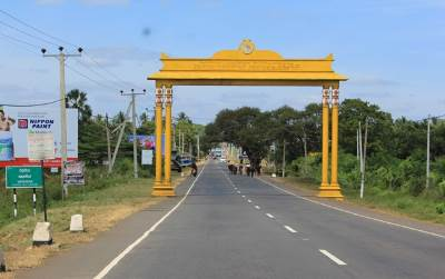 Entering Vavuniya