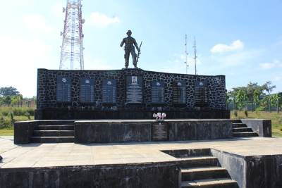Kokavil war hero monument