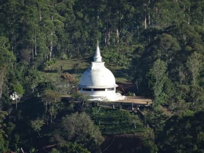 Here it is... a beautiful Stupa