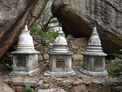 Where the monks are buried