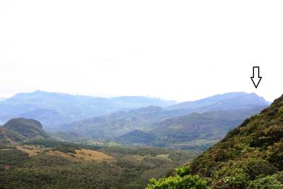 Highest peak of Knuckles Range-Gombaniya(ගොම්බානිය)