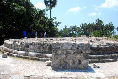 Ruins of an ancient Buddhist pagoda