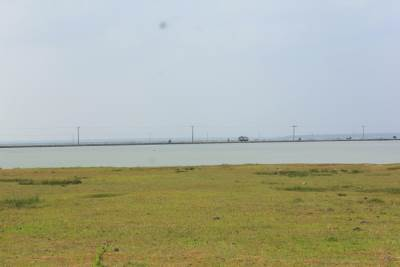 Ponnalai – Karainager causeway at the distance