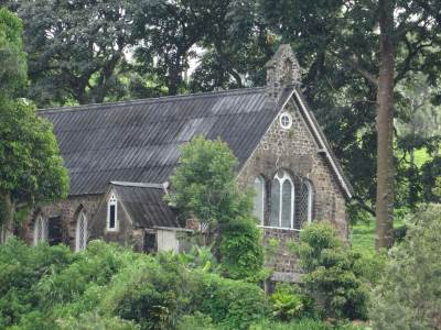 This is the Christ Church, Warleigh, Dickoya