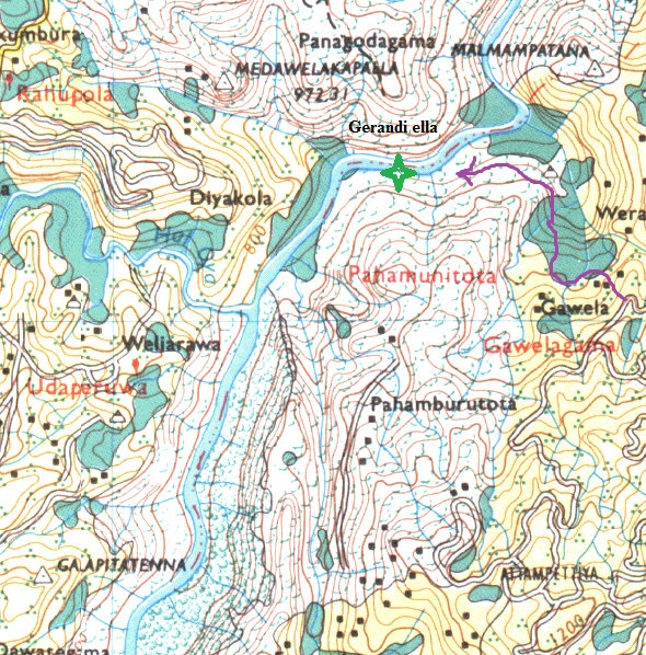 Map around Gerandi falls - click to enlarge