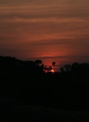 Sun set at Chundikulam
