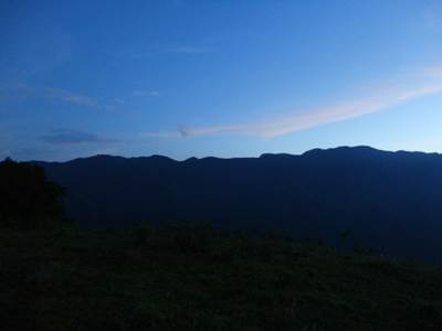 Morning Sky towards to horton plains