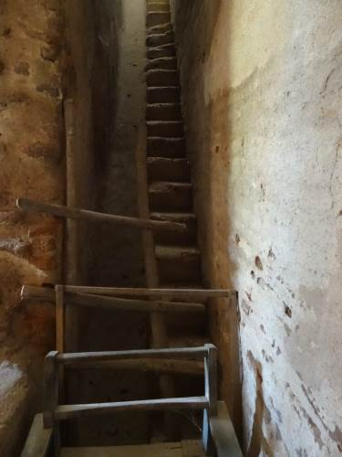Back out of it, this is the steps to the second floor