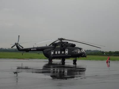 One of the many MI-17s SLAF has