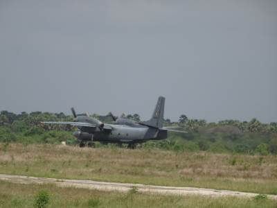 An-32 taking off