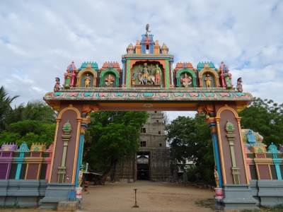Entrance to the Kovil