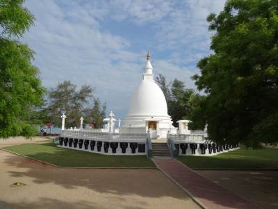 Beautiful stupa