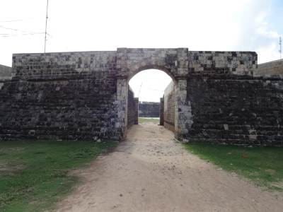 Main entrance into the fort