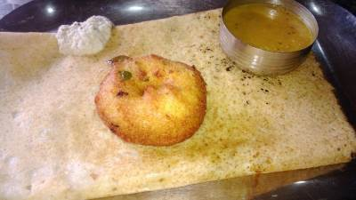 Typical Thosai and Ulundu Wadei at Akshathai