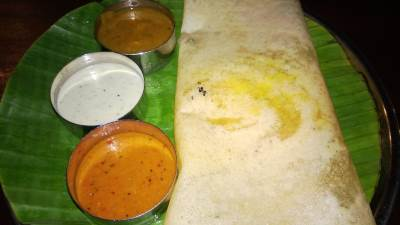 Mangos Special Dosai, that one was delicious