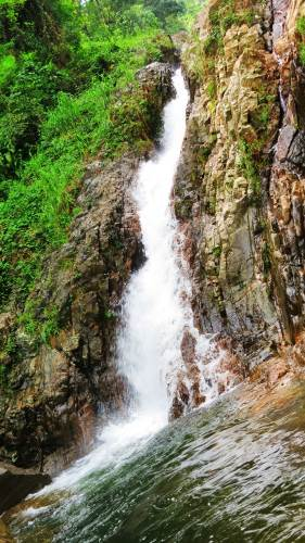 Second part of the waterfall