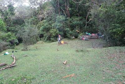 """Waddahena"". Day 2 campsite. You gotta make sure you have a very good campfire when camping here as this situated in a elephant path."
