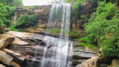 Nalagana Falls upper part